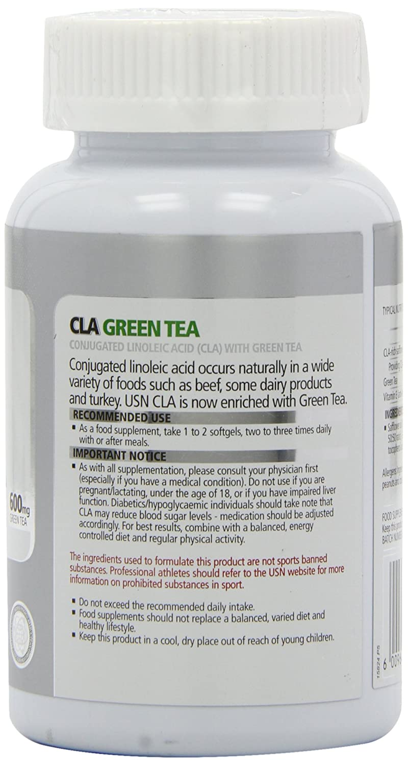 Amazon.com: USN Cla té verde 45 Cápsula: Beauty