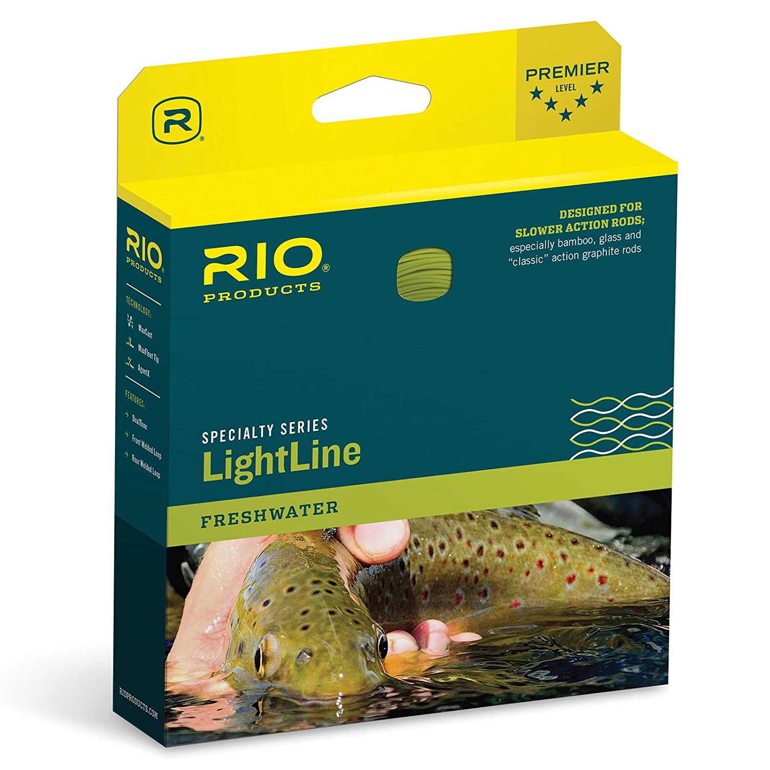 【新発売】 (DT4F, Brown-Ivory) - Floating Rio - Brands RIO Brands Lightline Fly Fishing Line Weight Forward Floating Traditional Slow Action B014I43N8O, 一番人気物:ab4e567f --- a0267596.xsph.ru
