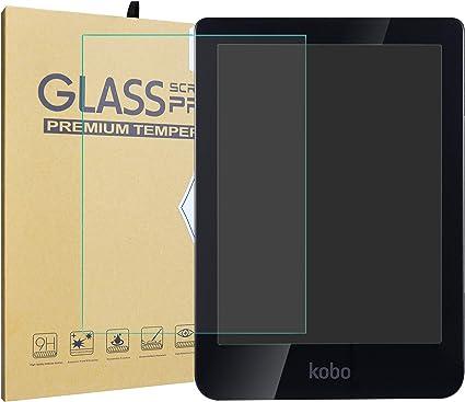 LiuShan Kobo Clara HD 2018 Templado Protector, 9H Dureza Premium ...