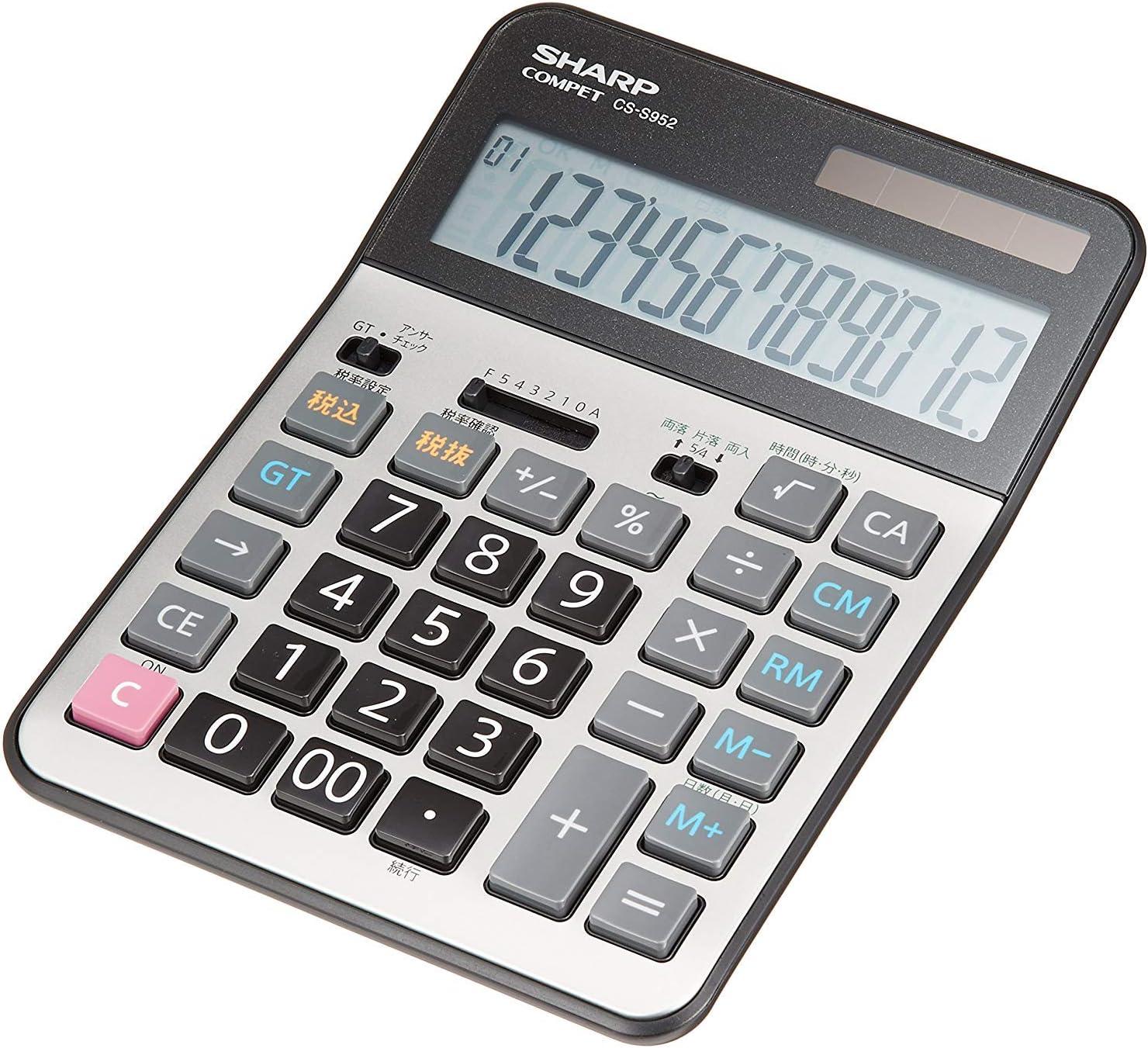 SHARP practice calculator semi Max 43% Max 64% OFF OFF CS-S952X type desktop