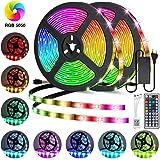 Led Strip Lights, AmazerTec 65.6ft/20M Ultra-Long Color Changing Light Strip, 5050 RGB Led Strip Lights Color Changing…