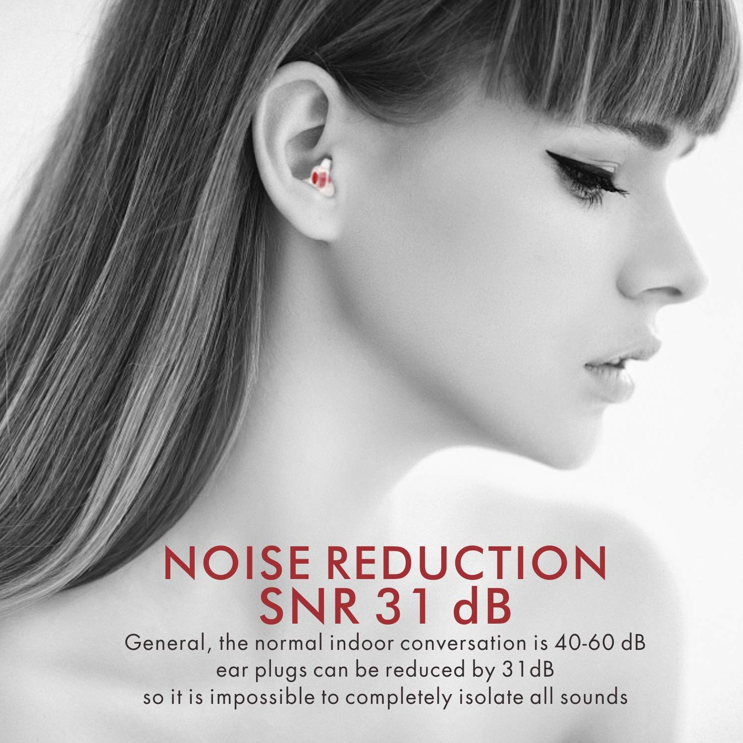 Ear Plugs for Sleeping, Softvox Noise Reduction Sleeping Ear Plugs-Upgraded Filter(SNR31dB)-Reusable Ear Plugs for Snorning,Work,Office,Airplane Travel,Gardening by softvox (Image #8)