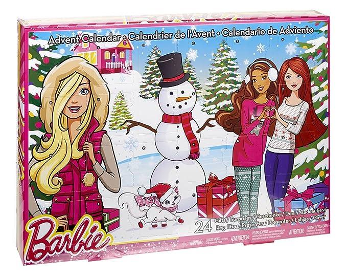 Amazon.com: Barbie - Calendario de Barbie: Toys & Games