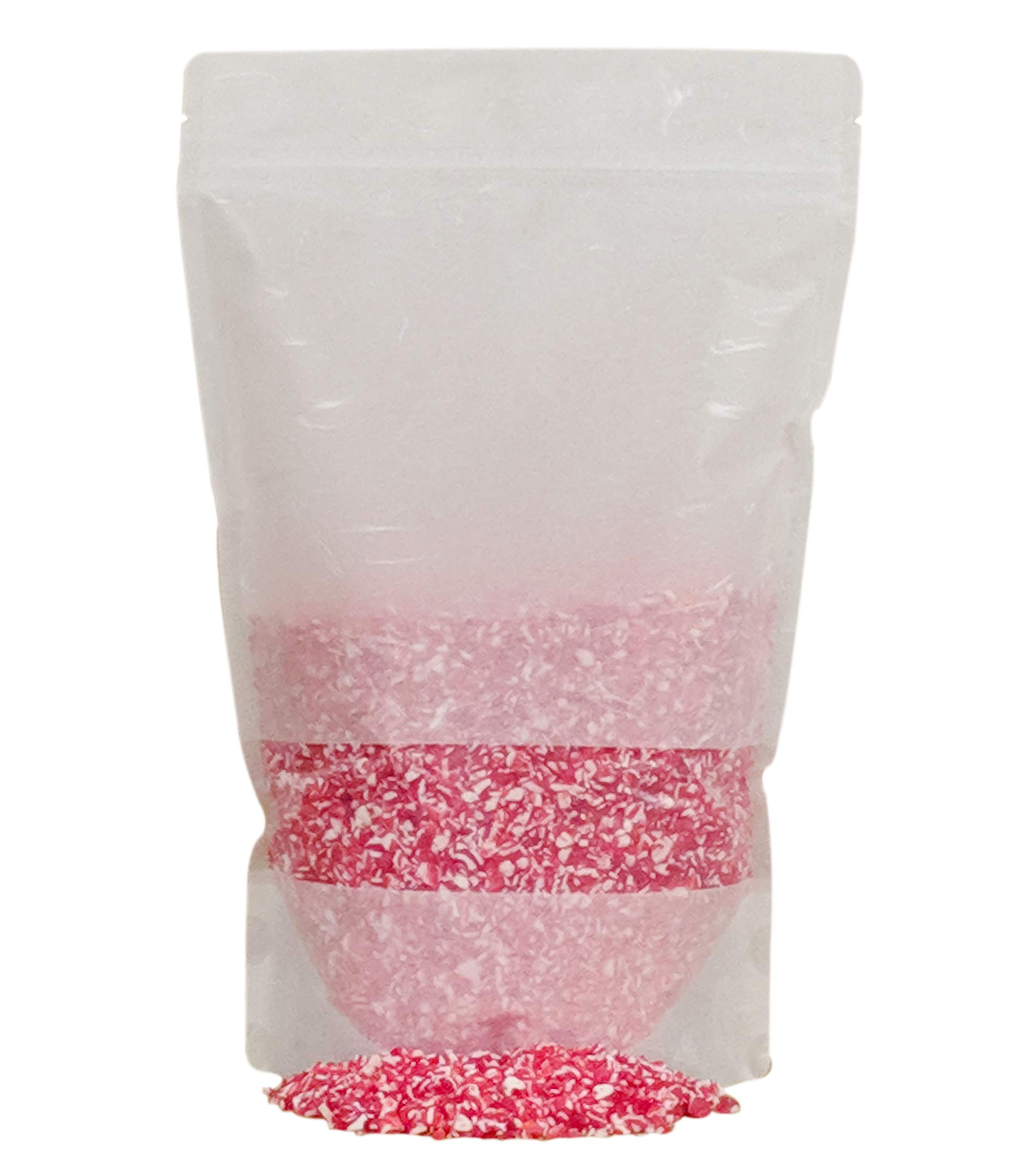 Festival Candy Cane Crunch - Crushed Peppermint Candy Topper Bits - Perfect Holiday Addition To Any Dessert Or Drink - Comes With Scoop And Recipe Card - Christmas Cookie Decorations, Candy Cane (2LB) by BRAND CASTLE