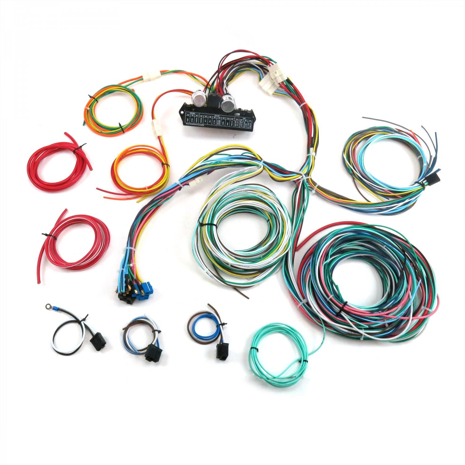 Amazon.com: Keep It Clean Wiring Accessories GH24Circuit 24 Circuit  Streetrod, Muscle car, Rat Rod, GM,Hot Rod wiring harness: Automotive