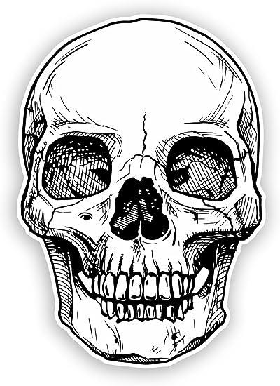 vinyle tête de mort 2