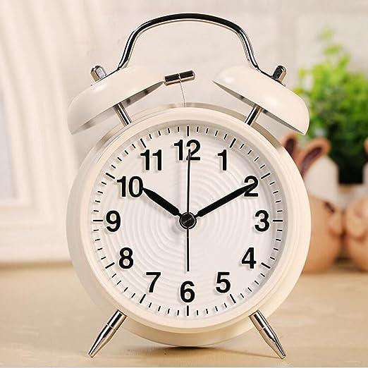 Doble Campanas Reloj despertador, Korostro Vintage Despertador con ...
