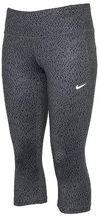 9d1fe7fca24059 Amazon.com: Nike Women's Dri-Fit Epic Run Tight Running Capri-Gray ...