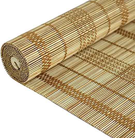 Persiana de bambú Persiana Exterior Enrollable con Accesorios, Porche Exterior/Pérgola/Balcón/Patio Trasero/Persianas para Sombrillas, 60cm / 80cm / 100cm / 120cm / 140cm De Ancho: Amazon.es: Hogar