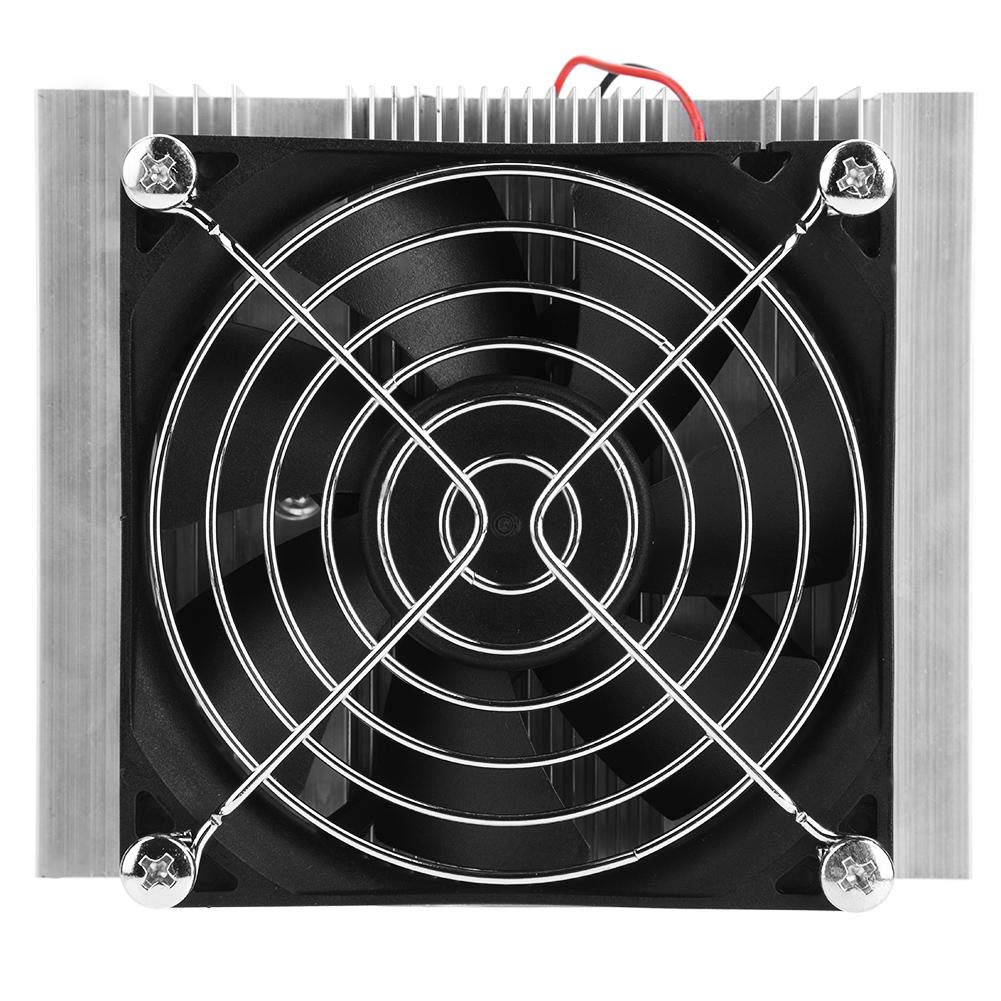 12V Semiconductor Refrigeration DIY Kits Thermoelectric Peltier Cold Plate Cooler with Fan Filfeel Semiconductor Refrigeration Plate Thermoelectric Cooler