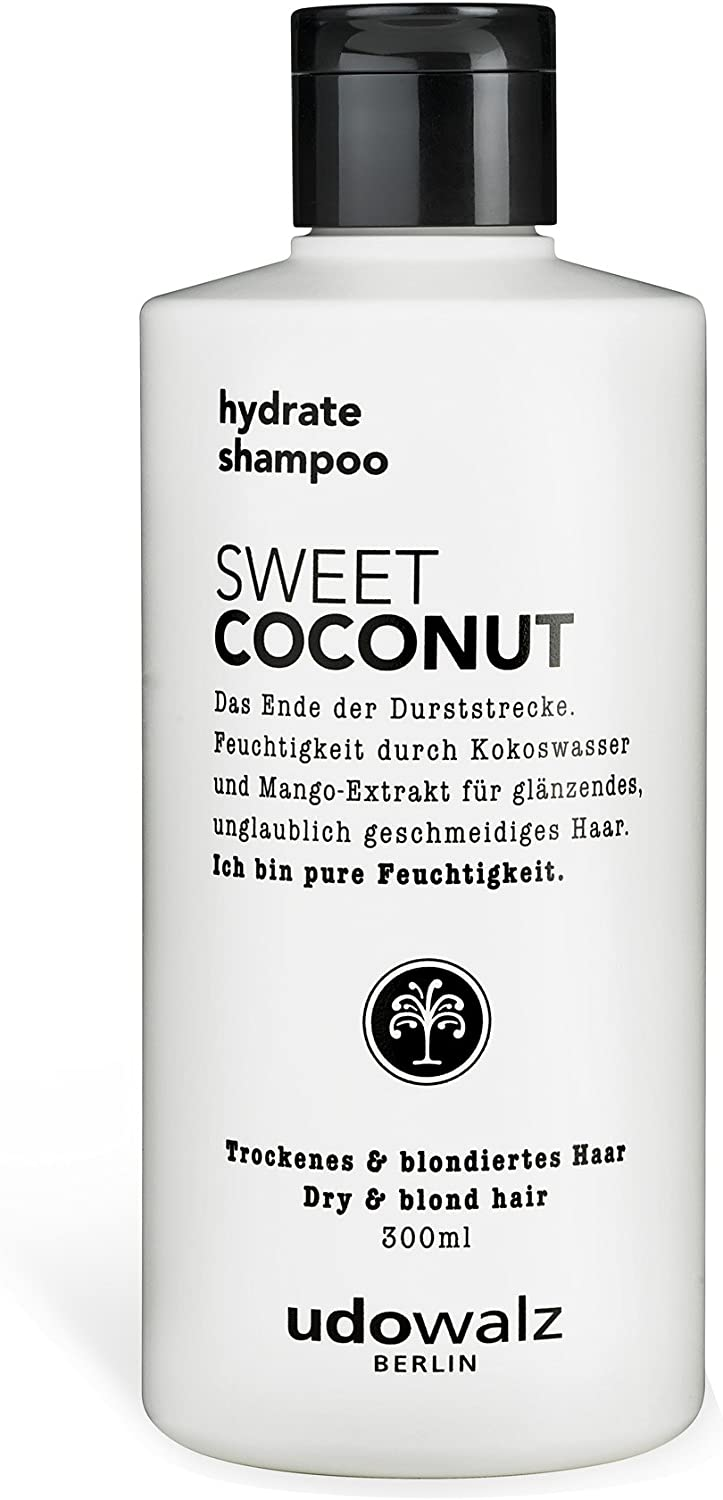 Udo Walz hairf Brentwood hydrating Champú Sweet Coconut, 1er Pack (1 x 300 ml)
