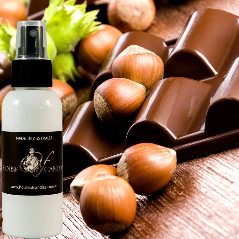 Chocolate Hazelnut Vanilla Perfume Body Spray Deodorant Mist XSTRONG 50ml/1.7oz VEGAN & CRUELTY FREE House Of Candles