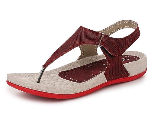 f806644300289a TRASE Qure Women s Dailywear Sandal Slipper Combo (Ultra Light Eva ...