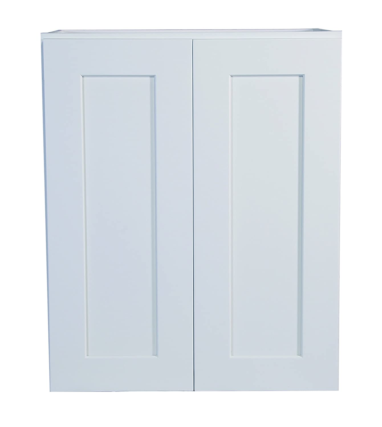 Design House Brookings 24 Fully Assembled Kitchen Wall Cabinet White Shaker