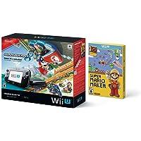 Consola Nintendo Wii U 32 GB + Mario Kart 8 Deluxe Set + Super Mario Maker