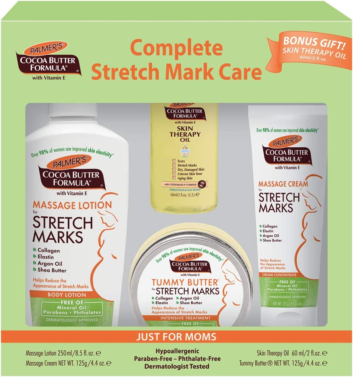 Amazon Com Palmer S Cocoa Butter Formula Complete Stretch Mark