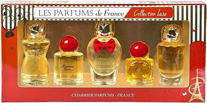 Charrier Parfums de Francia Colección Luxe – Estuche de 5 agua de ...