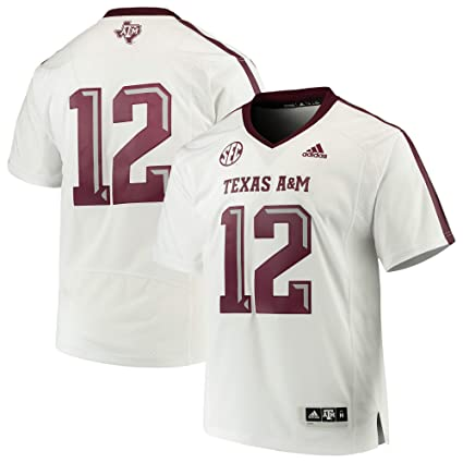 49c3c8d9f Amazon.com   adidas Texas A M Aggies White  12 Premier Football ...