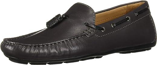 حذاء تاسل درايفر باربطة من درايفر كلوب يو اس ايه من الجلد الطبيعي المصنوع في البرازيل