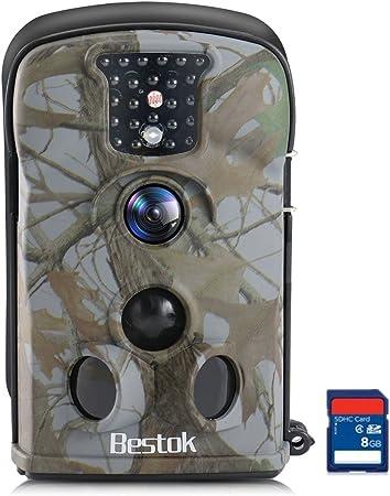 Outdoor Hunting Trail Camera 12MP Wild Animal Detector Night Vision Waterproof