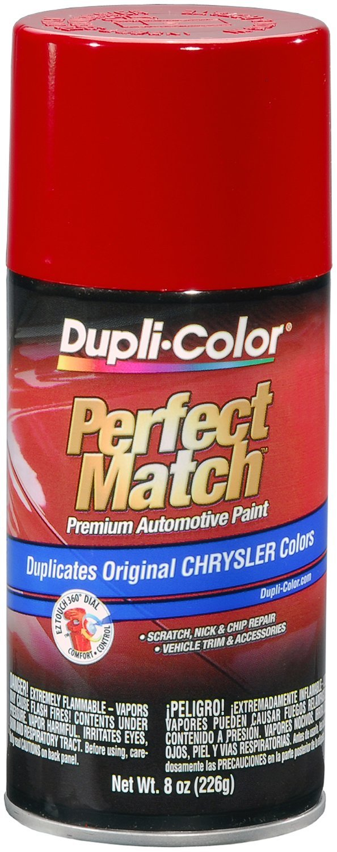 Dupli-Color BCC0419-6 PK (EBCC04197-6 PK) Flame Red Chrysler Perfect Match Automotive Paint - 8 oz. Aerosol, (Case of 6) by Dupli-Color
