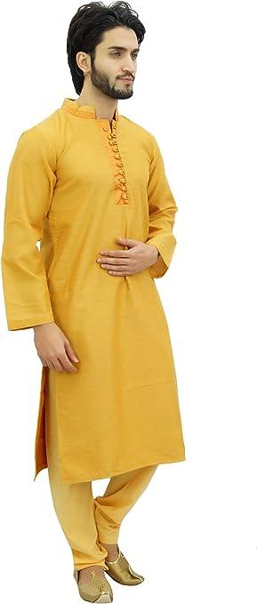 Atasi Conjunto de Pijama Kurta de para Hombre. Camisa de Bollywood ...