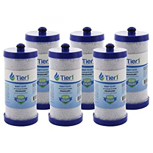 Tier1 Replacement for Frigidaire WF1CB PureSource, WFCB, RG100, WF284, NGR2000, Kenmore 469906, 469910 Refrigerator Water Filter 6 Pack