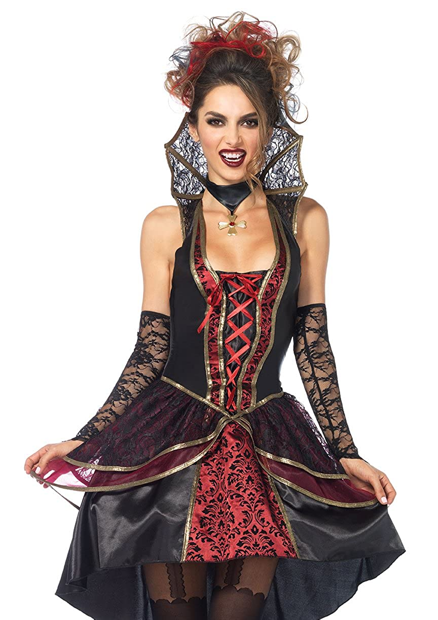 Women's Vampire Queen Halloween Costume