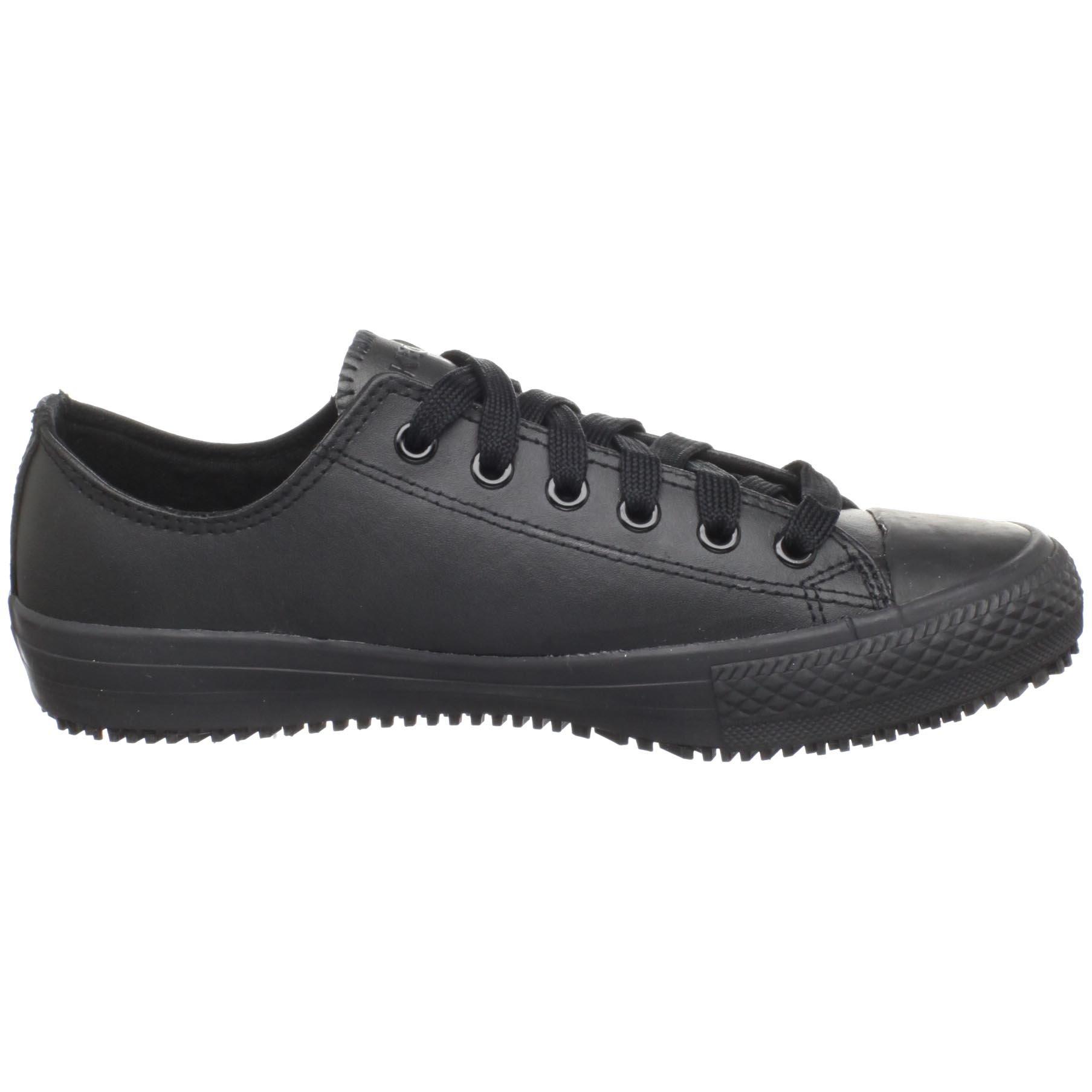 Skechers for Work Women's Gibson-Hardwood Slip-Resistant Sneaker, Black, 8 M US by Skechers (Image #6)