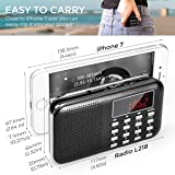 PRUNUS J-908 Mini Portable Pocket AM FM Radio