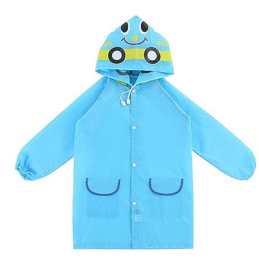 c143bb30f Amazon.com  WSLCN Waterproof Coats Unisex Kids Poncho Funny ...