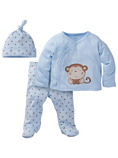 """bfa8ded97 Image Unavailable. Image not available for. Color: Gerber 0-3M 0-3 Months  Baby Boy Layette Set """"Take Me Home"""
