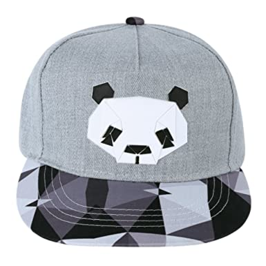 115630ad2e7 Image Unavailable. Image not available for. Colour  vanpower Women Men  Visor Baseball Cap Unisex Snapback Flats Hip-Hop Bboy Hat Pandas