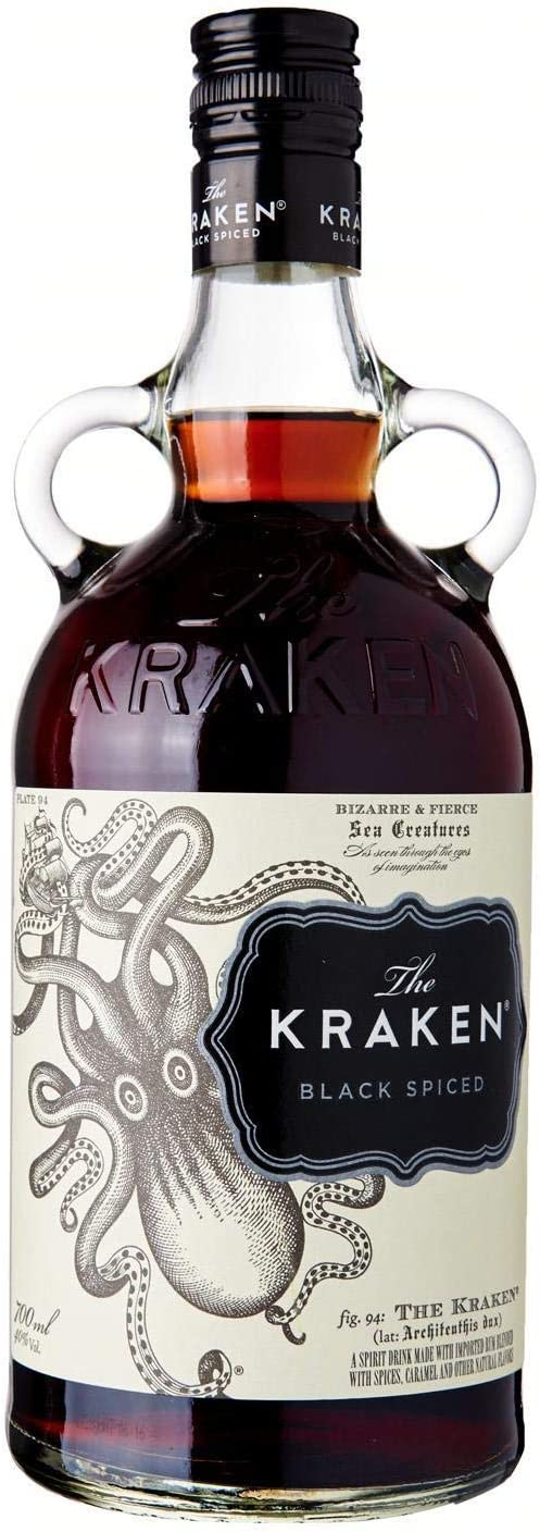 The Kraken, Black Spiced Rum, 700 ml