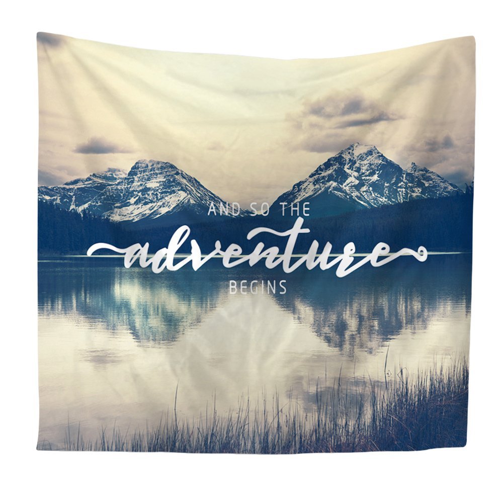Original English Alphabet Tapestry Multi-factional Beach Towels Yoga Mat Bikini Cover-Up Blanket 59x51inch Vosarea