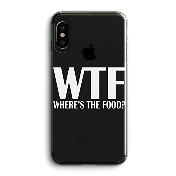 on sale 850a9 b8a32 Compatible iPhone X Girls Cute Case,Cool Women Trendy Life Attitude Funny  Cute Hipster Sassy Quotes WTF Where is The Food Funny Stuff Girlfriend  Teens ...