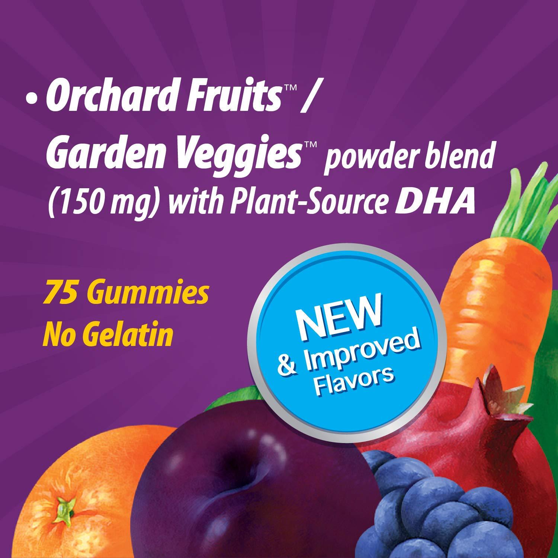 Nature's Way Alive! Prenatal Premium Gummy Multivitamin with DHA, Full B Vitamin Complex, 75 Gummies
