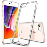 "ESR iPhone 8 Case, iPhone 7 Case, Crystal Clear Transparent Gel Case [Slim-Fit] [Anti-Scratch] [Shock Absorption] for 4.7"" Apple iPhone 7 (2016)/iPhone 8 (2017) (Clear)"