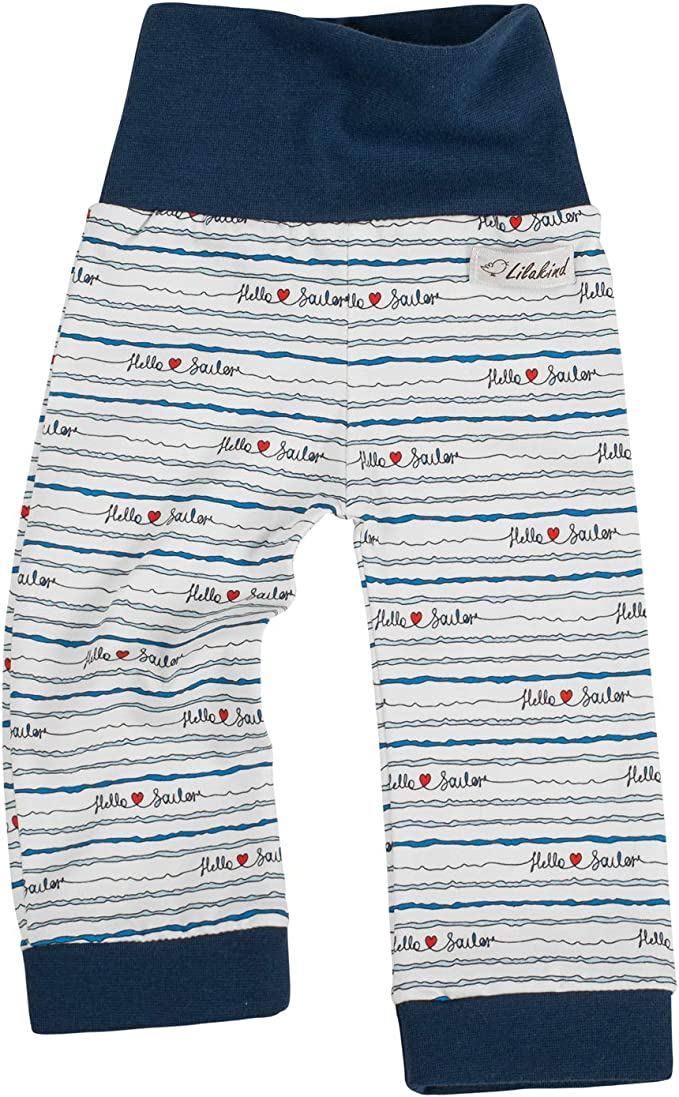 Made in Germany Lilakind Pumphose Sommerhose Marine Weiss Punkte