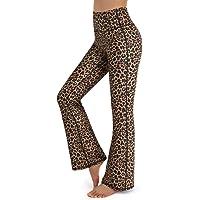 Promover Pantalones de Yoga Bootcut con Bolsillos para Mujer Pantalones de Trabajo de Entrenamiento de Cintura Alta…