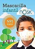 Mascarilla Infantil Nosk 3 Unidades Mascarilla de protección para niños y niñas