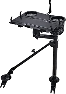 AA-Products K002-A Car Under Seat Installation Laptop Stand with Ball-Head