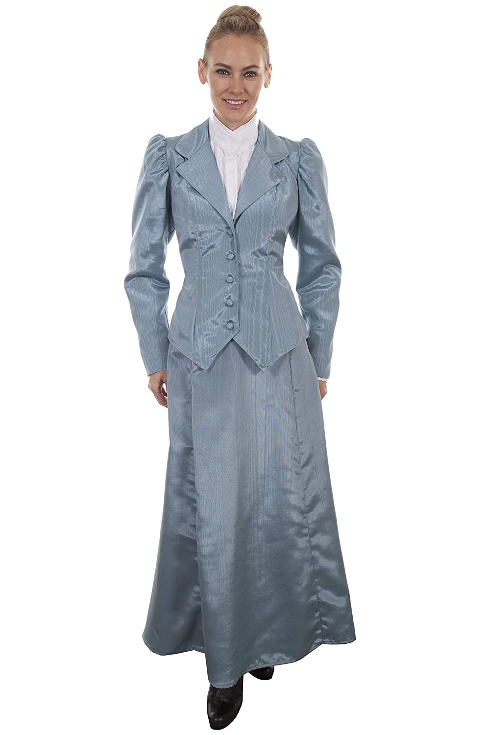 1890s-1900s Fashion, Clothing, Costumes Scully Wahmaker Womens Vintage Five Gore Walking Skirt - 738816-Cho $64.55 AT vintagedancer.com