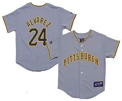 promo code 25cf9 ecc88 Amazon.com: Outerstuff Pedro Alvarez Pittsburgh Pirates Gray ...