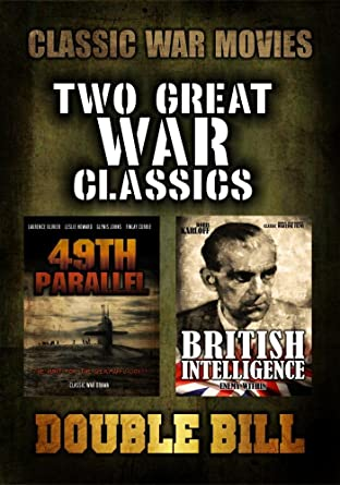 Amazon com: Classic War Movie Double Bill: 49th Parallel and British