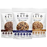 Low Karb - Keto Nut Granola Healthy Breakfast Cereal - Low Carb Snacks & Food - 3g Net Carbs - Almonds, Pecans, Coconut…