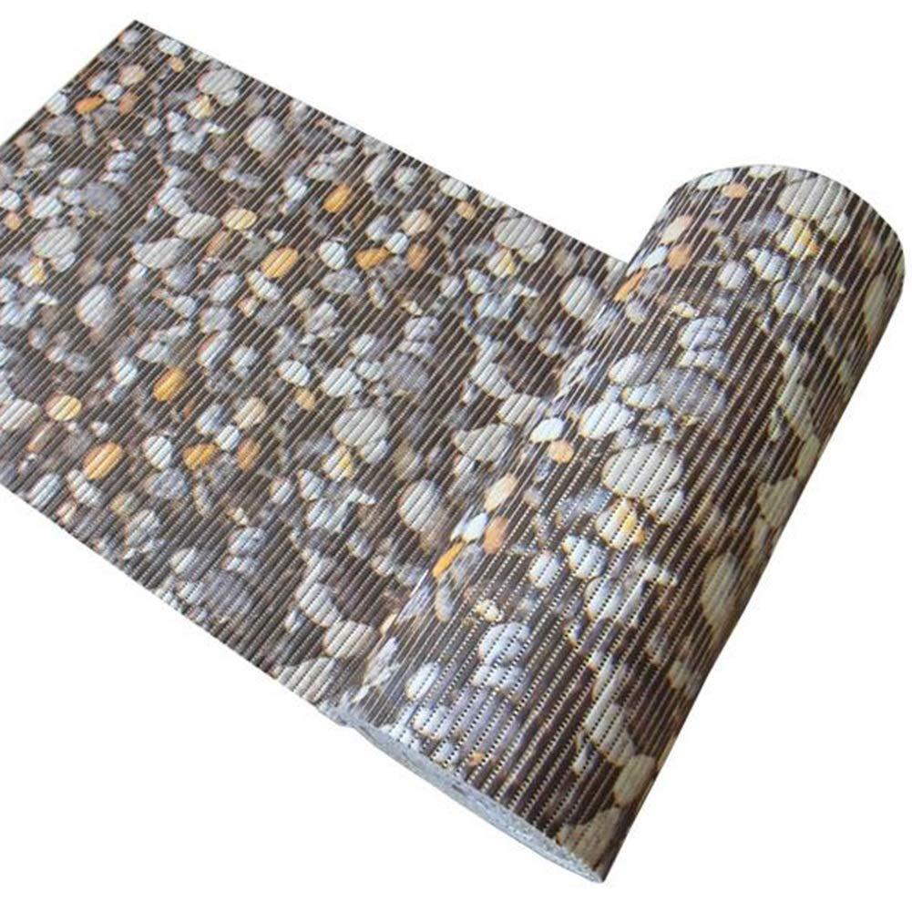 WENZHE キッチンマット 台所 カーペットトレッド パッド バスルーム 滑り止め PVC フットパッド ホーム ベッドルーム バルコニー、 厚さ6mm、 サイズ カスタマイズ可能 (色 : Diamond, サイズ さいず : 0.65x4m) 0.65x4m Diamond B07JLVPYT5