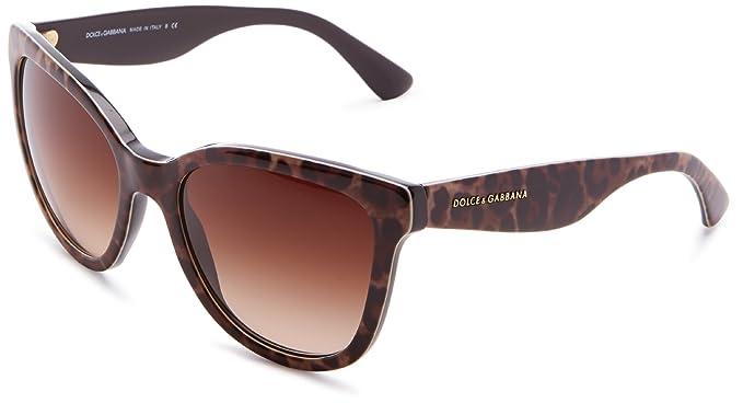 Dolce and Gabbana DG4190-54-199513 Gafas de sol: Amazon.es ...