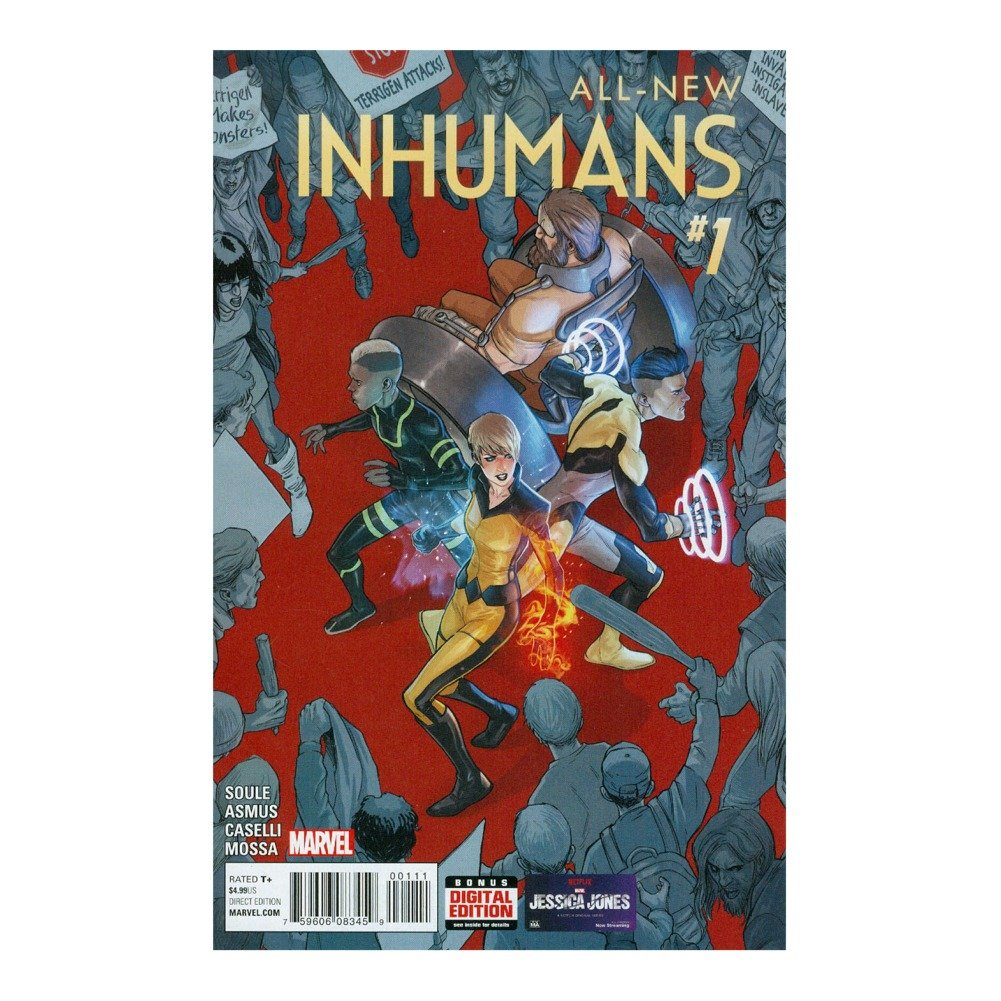 Download ALL NEW INHUMANS #1 COVER A pdf