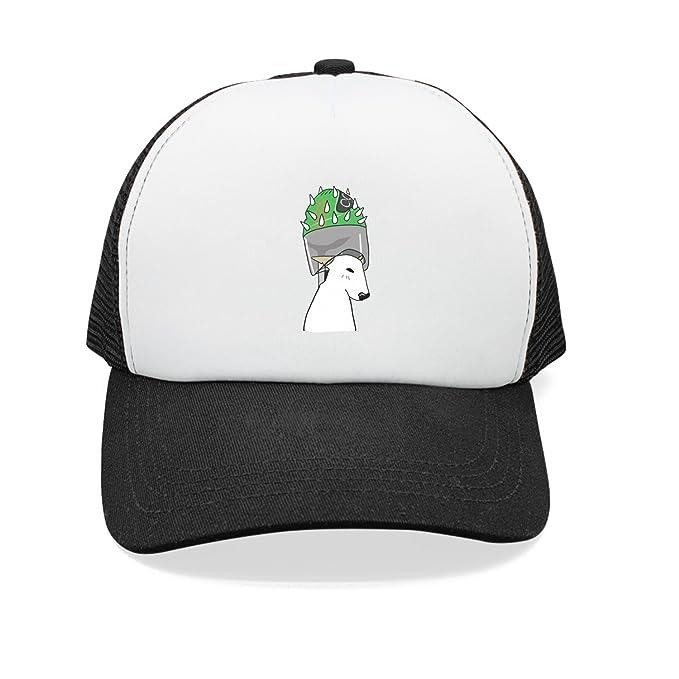 b303cdcb6 Trum Namii Unisex Mesh Cap Hat Dog Palm Cactus Mens Snapback Hat at Amazon  Men's Clothing store: